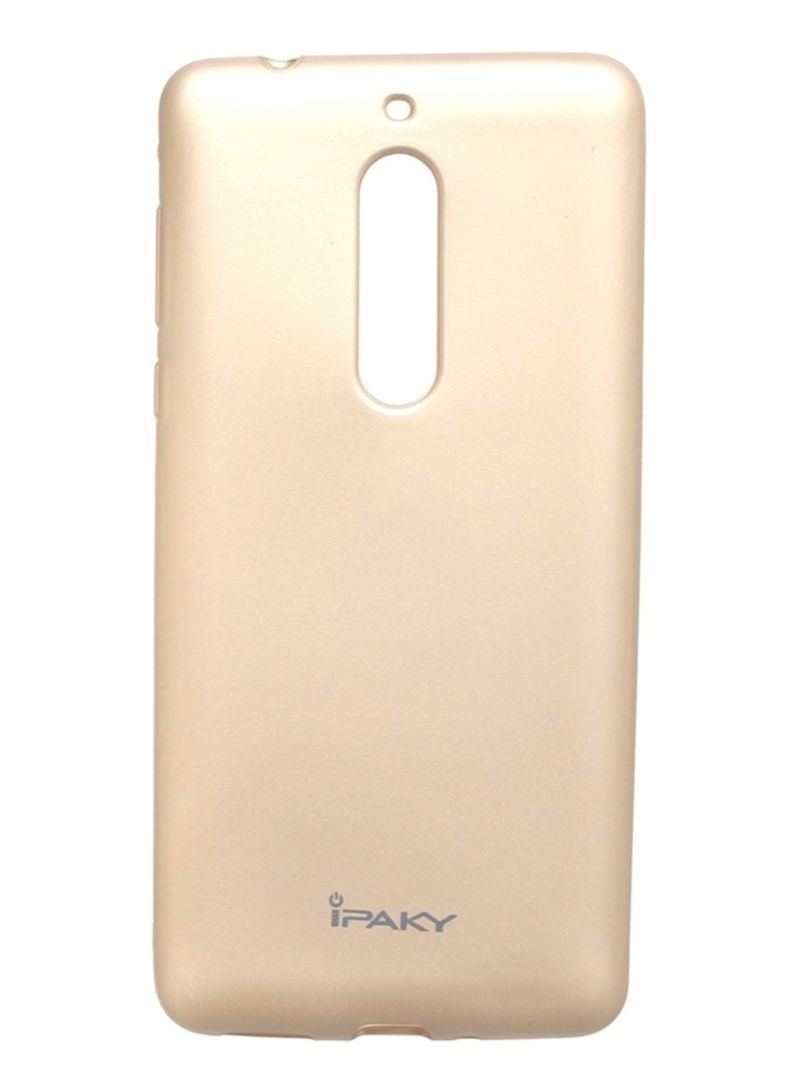 cheap for discount 07203 b2aa6 Shop IPAKY Back Cover For Nokia 5 Gold online in Dubai, Abu Dhabi ...
