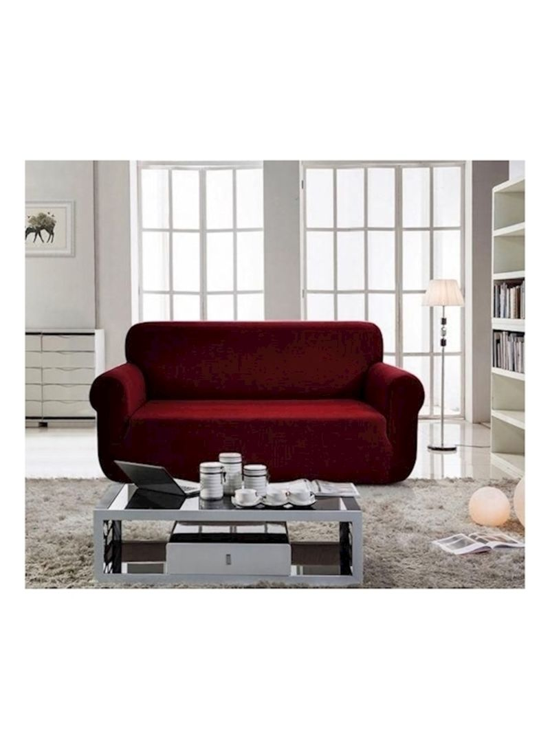 Generic Two Seater Sofa Cover Red