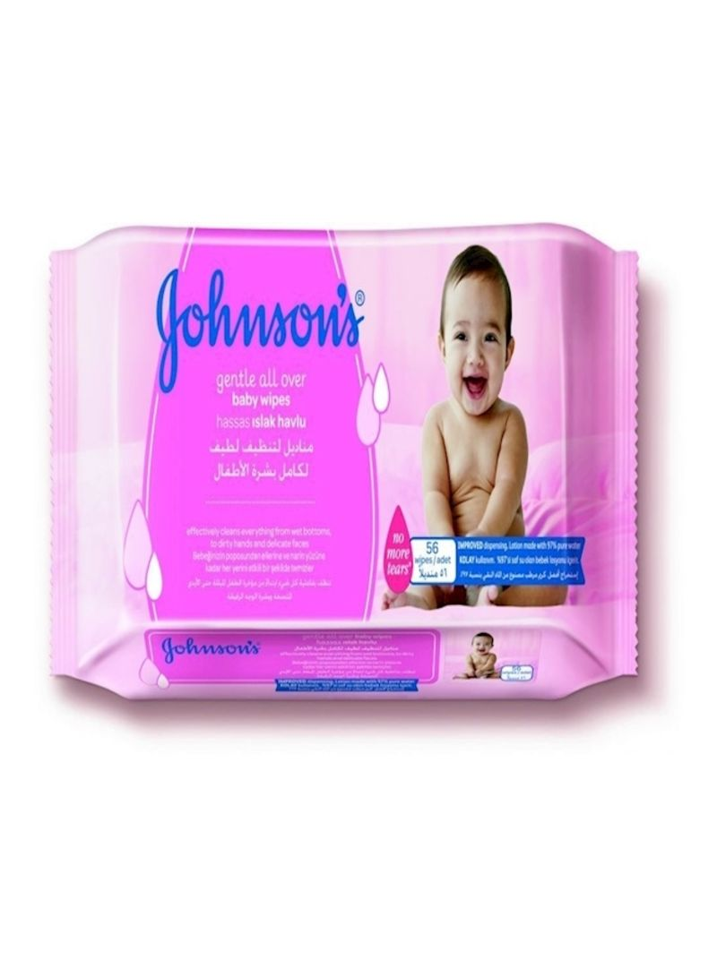 56 Johnson Baby Wipes