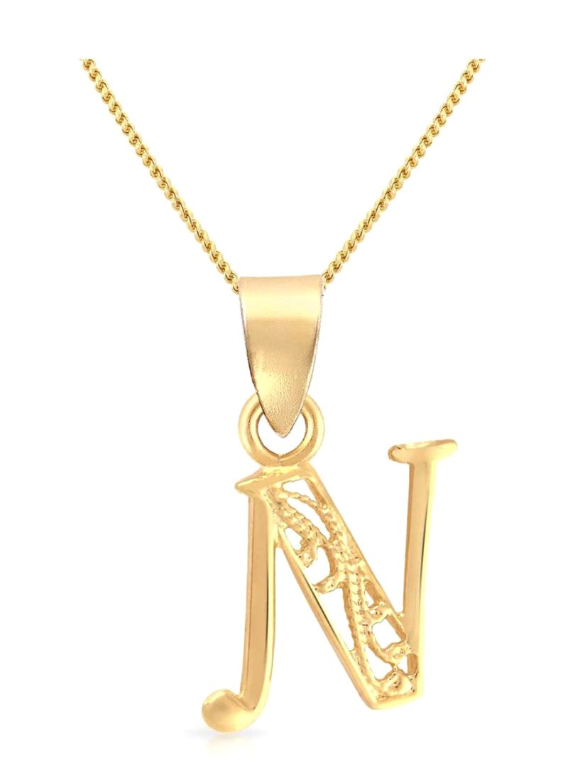 Shop Malabar Gold and Diamonds 22 Kt (916) Yellow Gold Malabar Pendant  A111000523029 For Women And Men online in Dubai, Abu Dhabi and all UAE