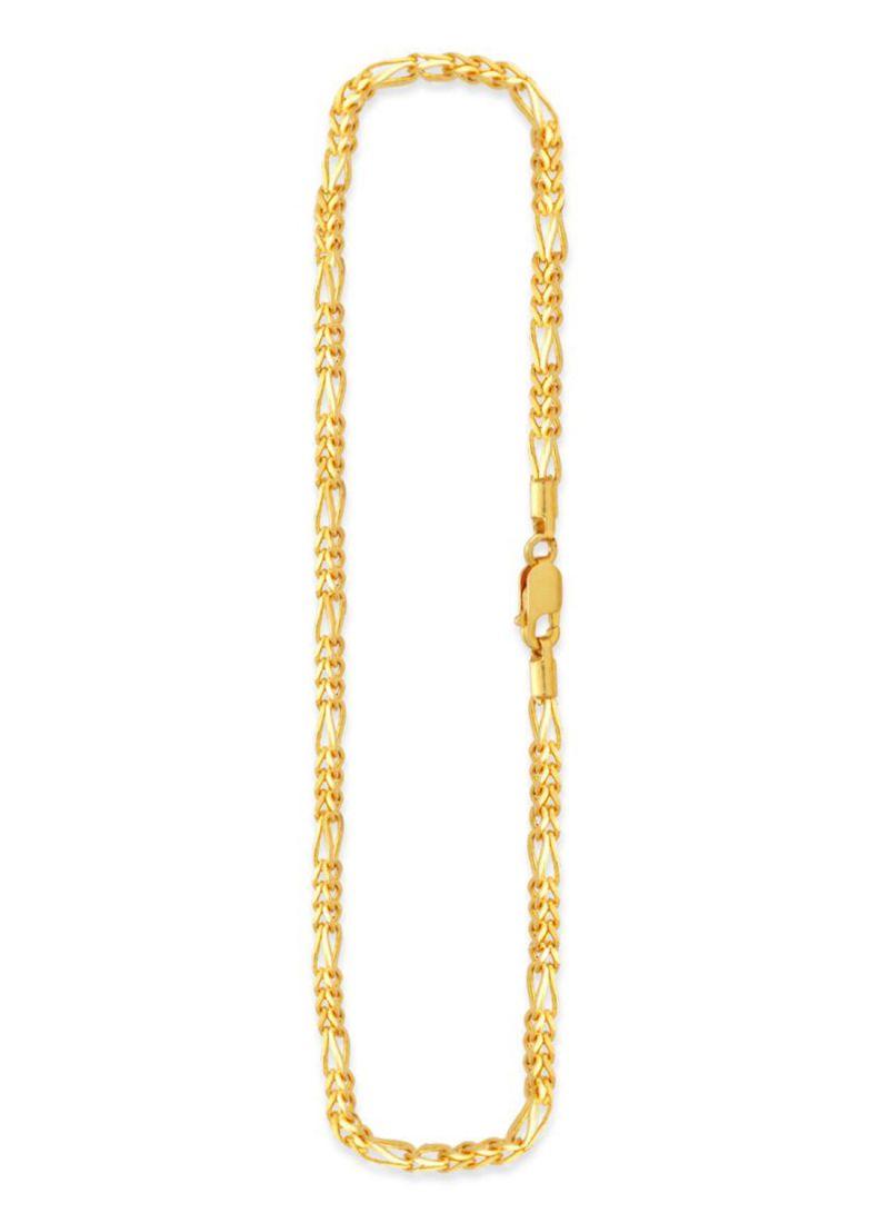 Shop Malabar Gold and Diamonds 22 karat Gold Chain Necklace