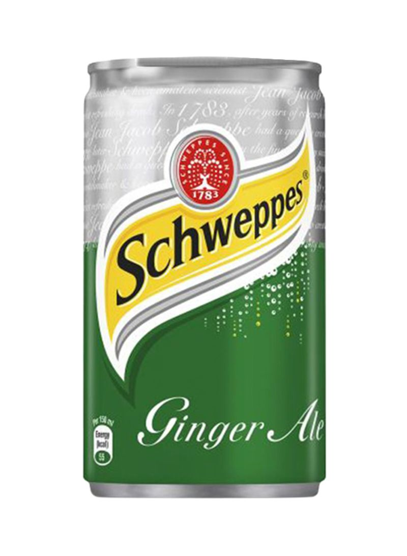 Shop Schweppes Ginger Ale Soft Drink Can 150 ml online in Dubai, Abu Dhabi  and all UAE