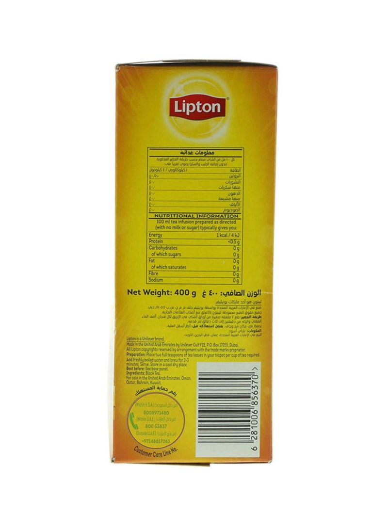 Shop Lipton Yellow Label Black Tea 400