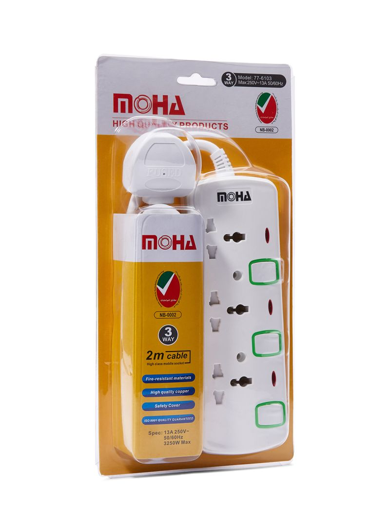 3 Way Switch Extension Cord