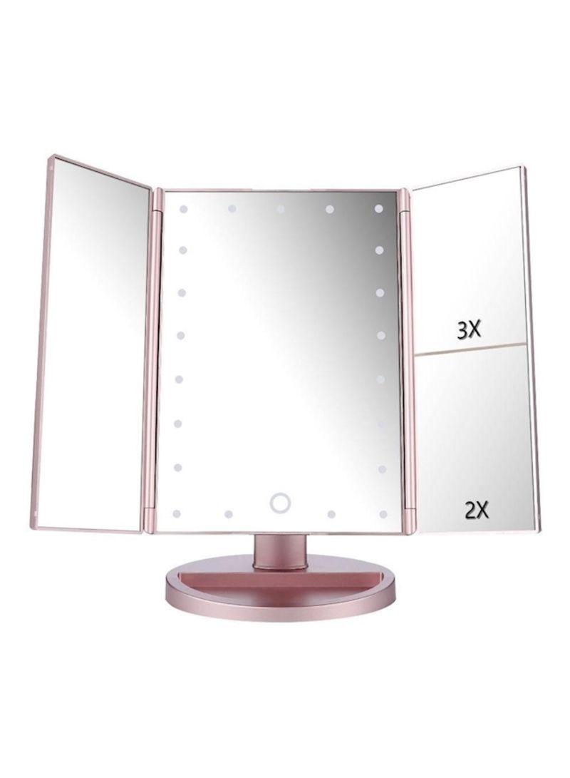 تسوق Generics و21 Super Bright Led Touch Screen Makeup Mirror White 900 غم  أونلاين في السعودية