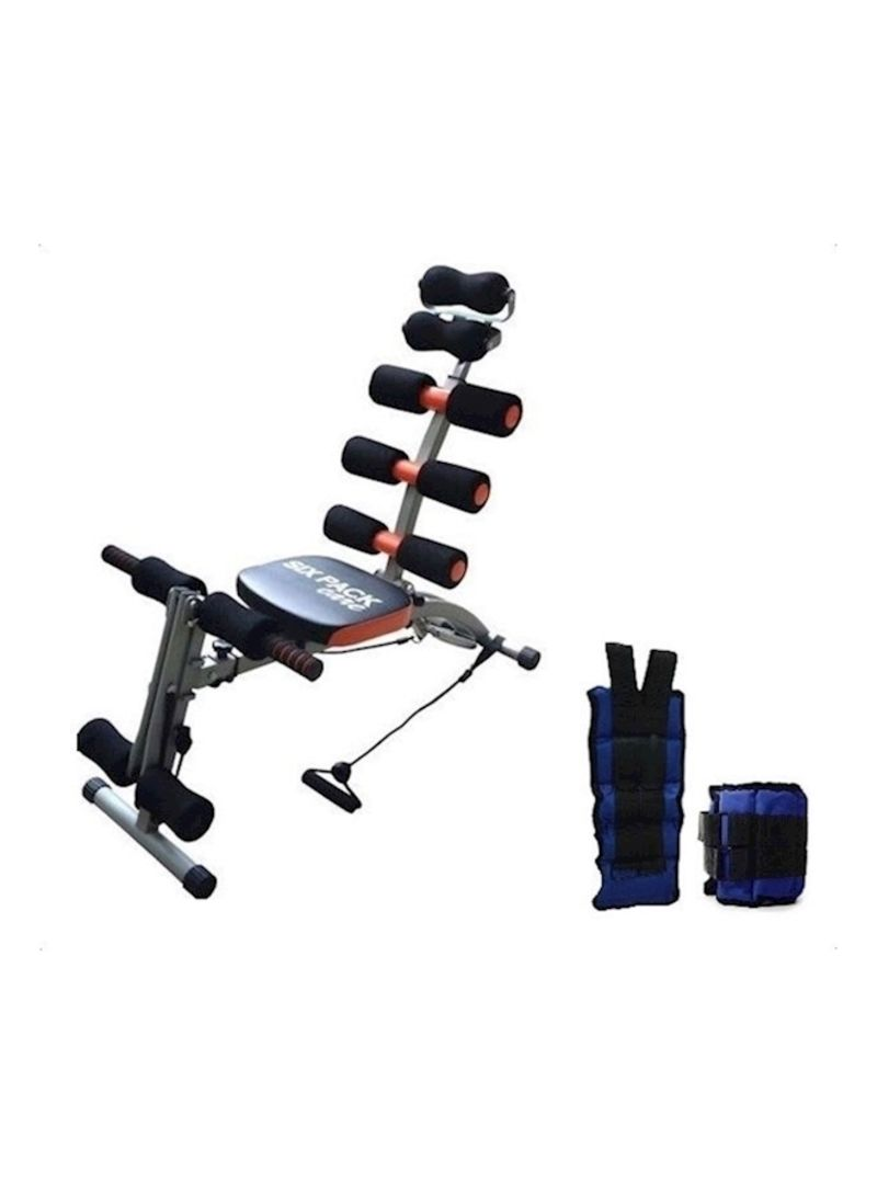 Shop Fit Look Six Pack Exercise Bench With Weights 5 Kg 12