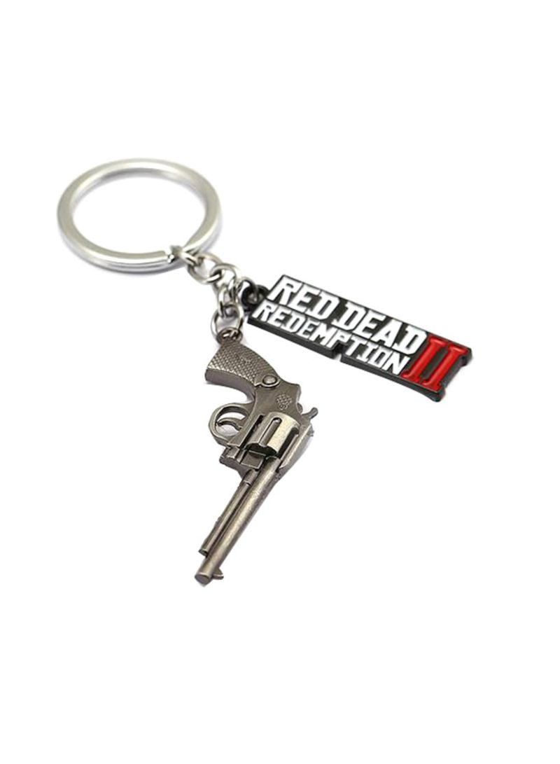 Shop Rockstar Red Dead Redemption 2 Key Chain Black/Silver/White online in  Dubai, Abu Dhabi and all UAE