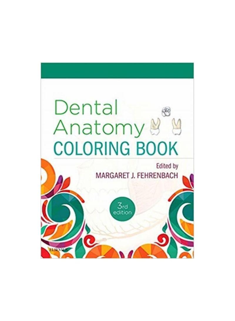 - Shop Dental Anatomy Coloring Book Paperback Online In Dubai, Abu