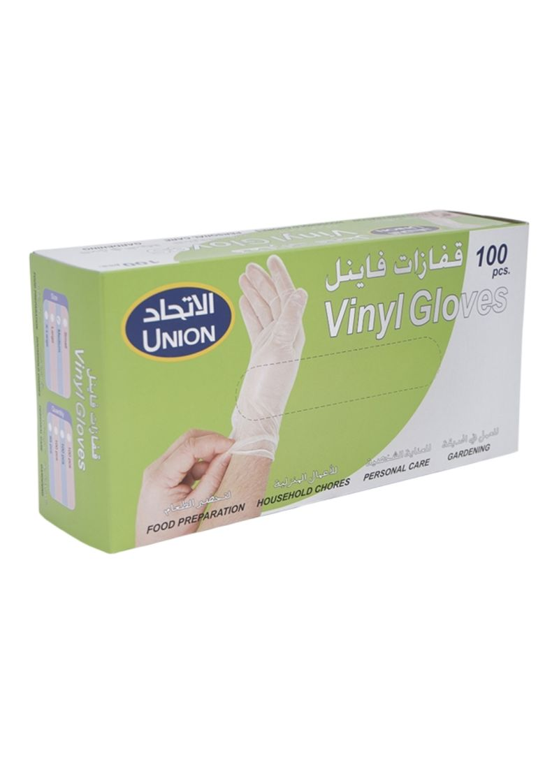 Shop Union Vinyl Gloves Medium Clear Extra Large Online In Dubai Abu Dhabi And All Uae