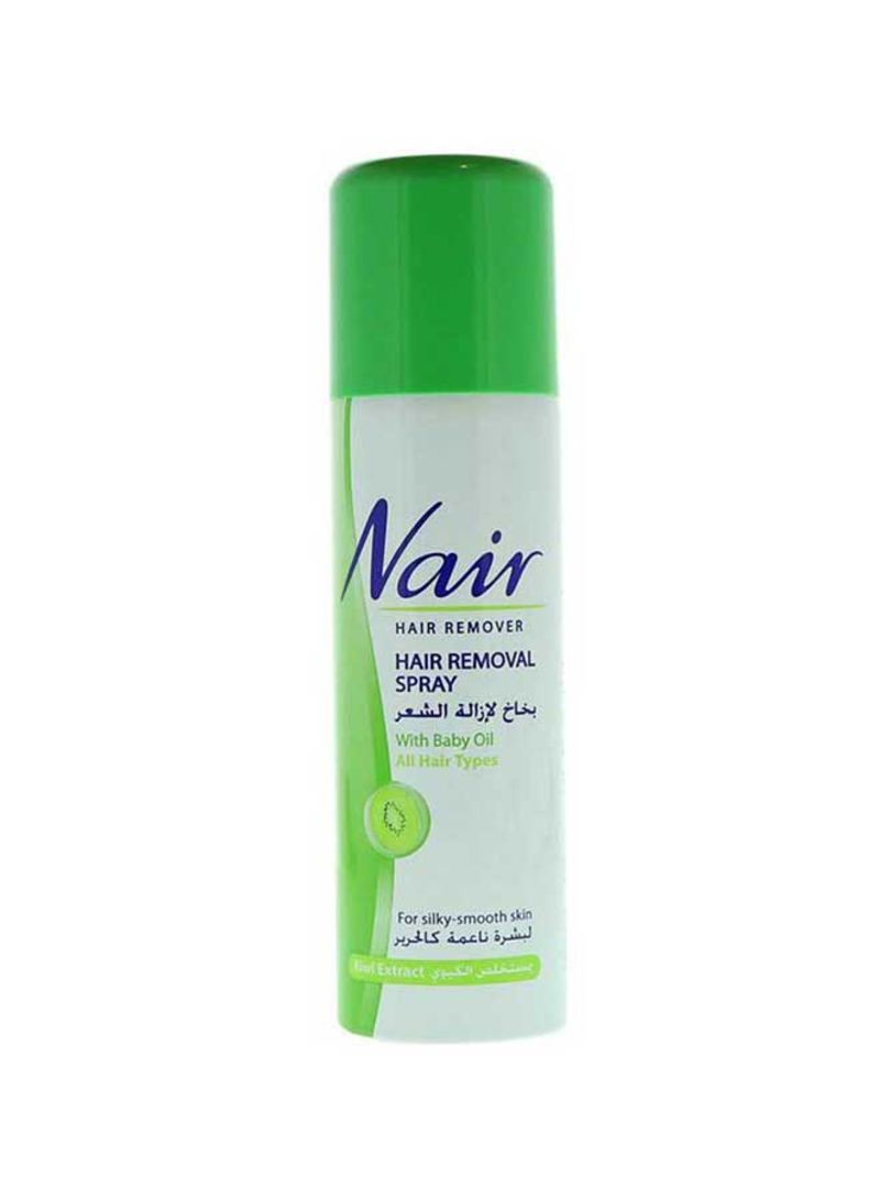 Shop Nair Kiwi Extract Hair Removal Spray Green 200 Ml Online In