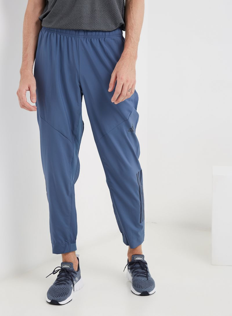 Shop adidas Workout Climacool Sweatpants Blue online in Dubai, Abu Dhabi and all UAE