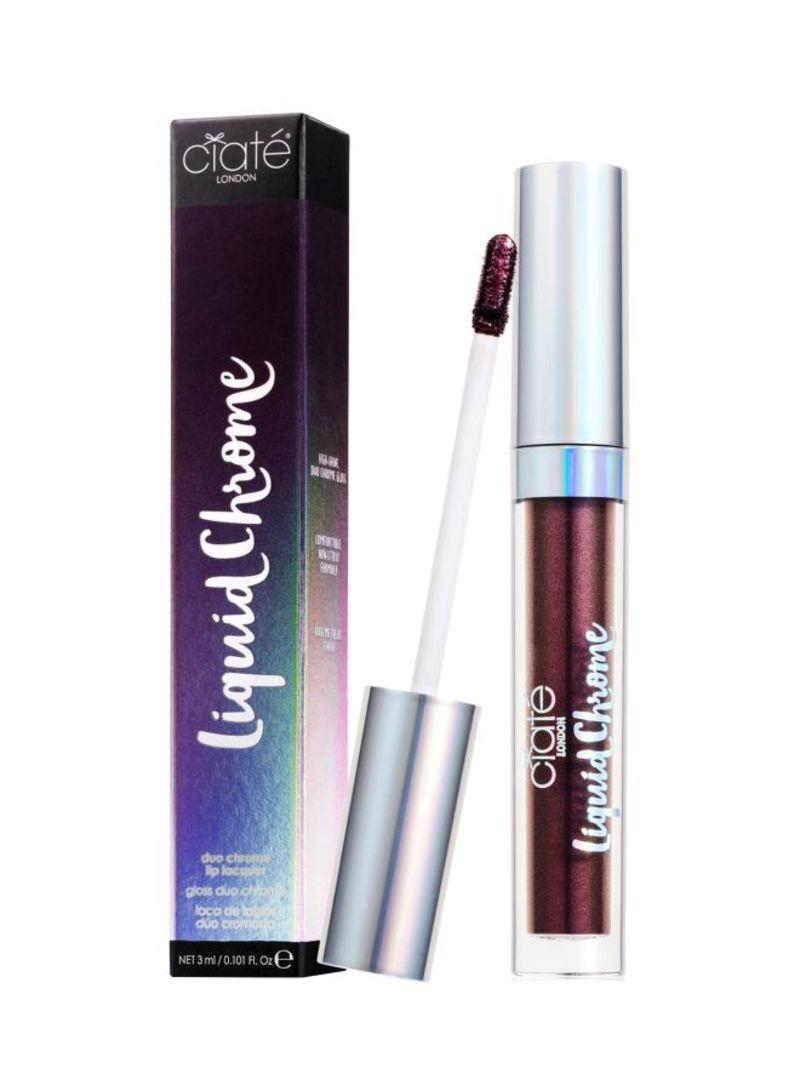 Shop Ciate London London Liquid Chrome Lipstick Eclipse