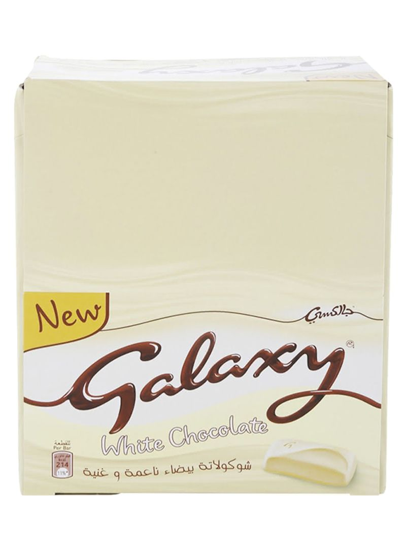 Shop Galaxy White Chocolate Bars 38 G Pack Of 24 Online In Egypt