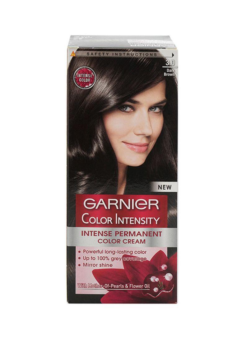 Color Intensity Permanent Hair Color 3.0 Dark Brown