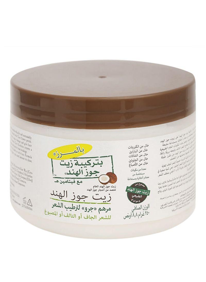 تسوق بالمرز وزيت شعر بتركيبة من جوز الهند وفيتامين E 250غم أونلاين في الإمارات