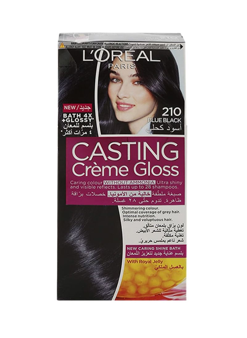 Casting Cream Gloss Temporary Hair Colour 210 Blue Black