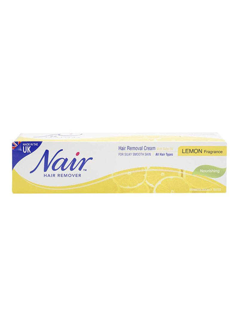 Lemon Fragrance Hair Removal Cream With Baby Oil 110ml Price In