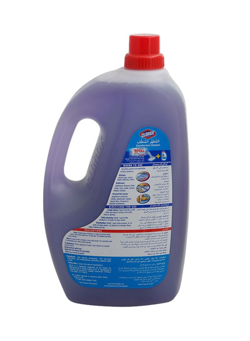 Shop Clorox Disinfectant Lavender Floor Cleaner Purple 3 Liter