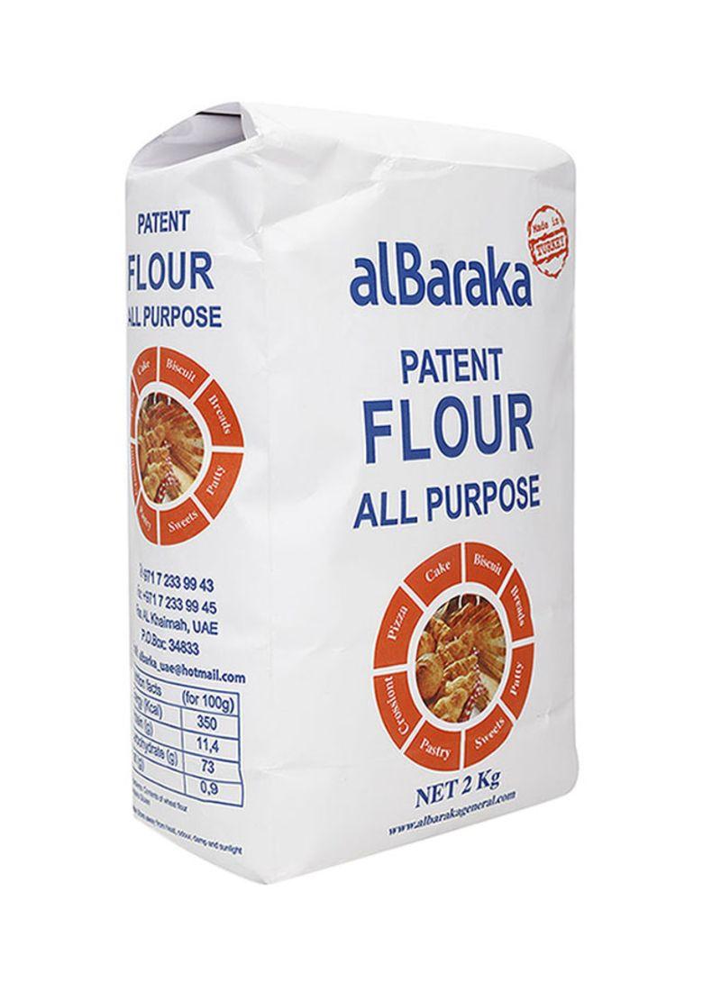 Shop al Baraka All Purpose Patent Flour 2 kg online in Dubai