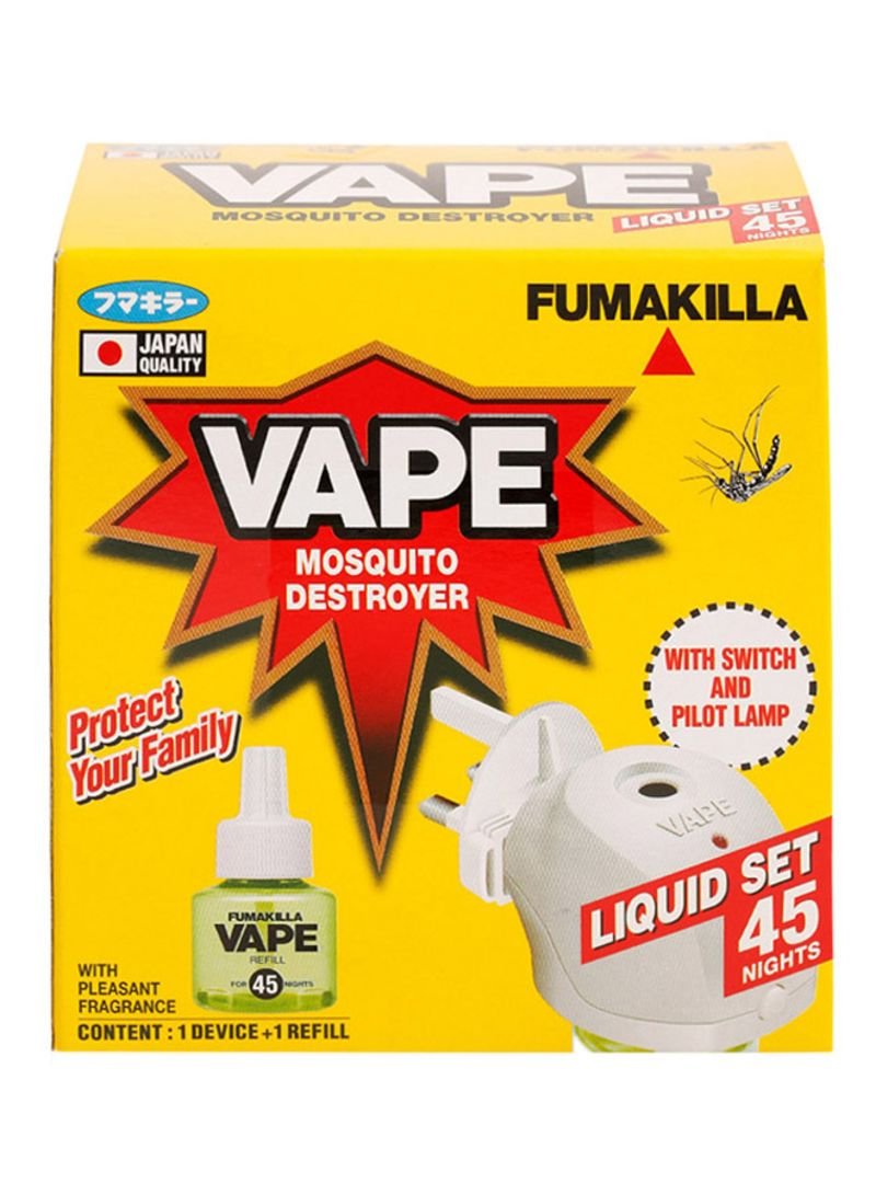 Shop FUMAKILLA Vape Liquid Mosquito Destroyer White online