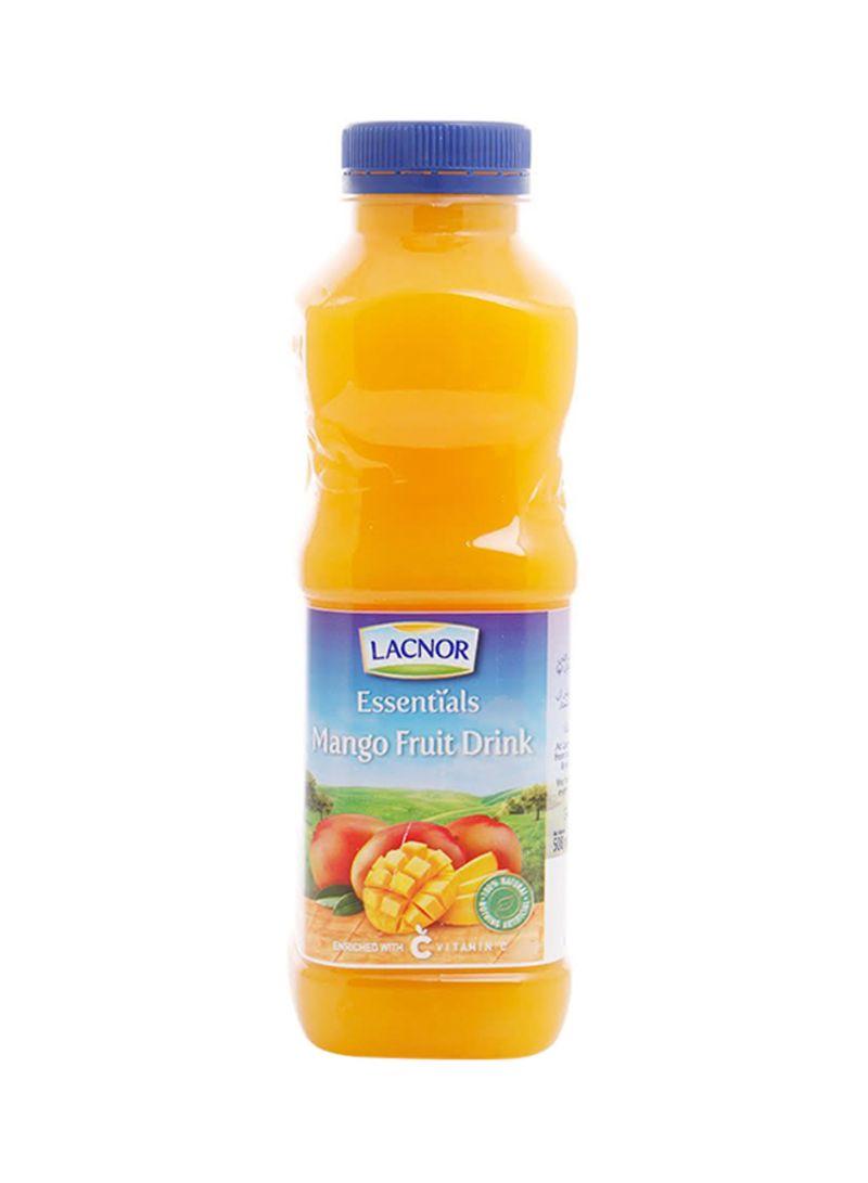 Shop Lacnor Mango Fruit Drink Juice 500 ml online in Egypt