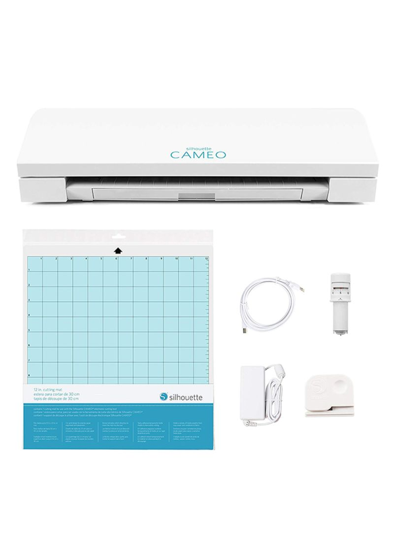 Shop Silhouette Cameo 3 Cutting Plotter White online in Dubai, Abu Dhabi  and all UAE