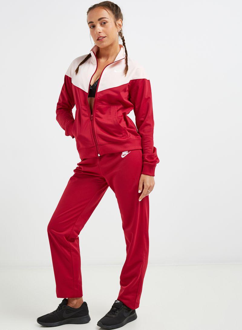 Nike Sportswear W track suit maroon