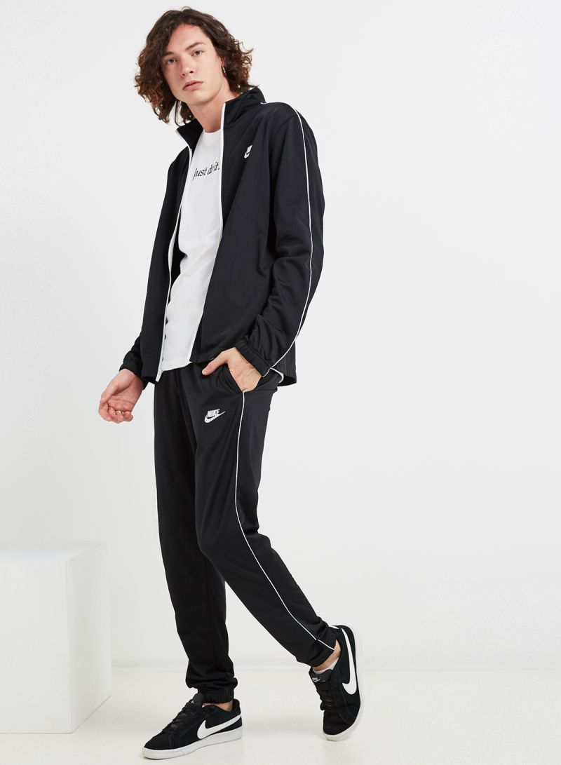Shop Nike M Nsw Ce Pk Basic Tracksuit BlackWhite online in Riyadh, Jeddah and all KSA