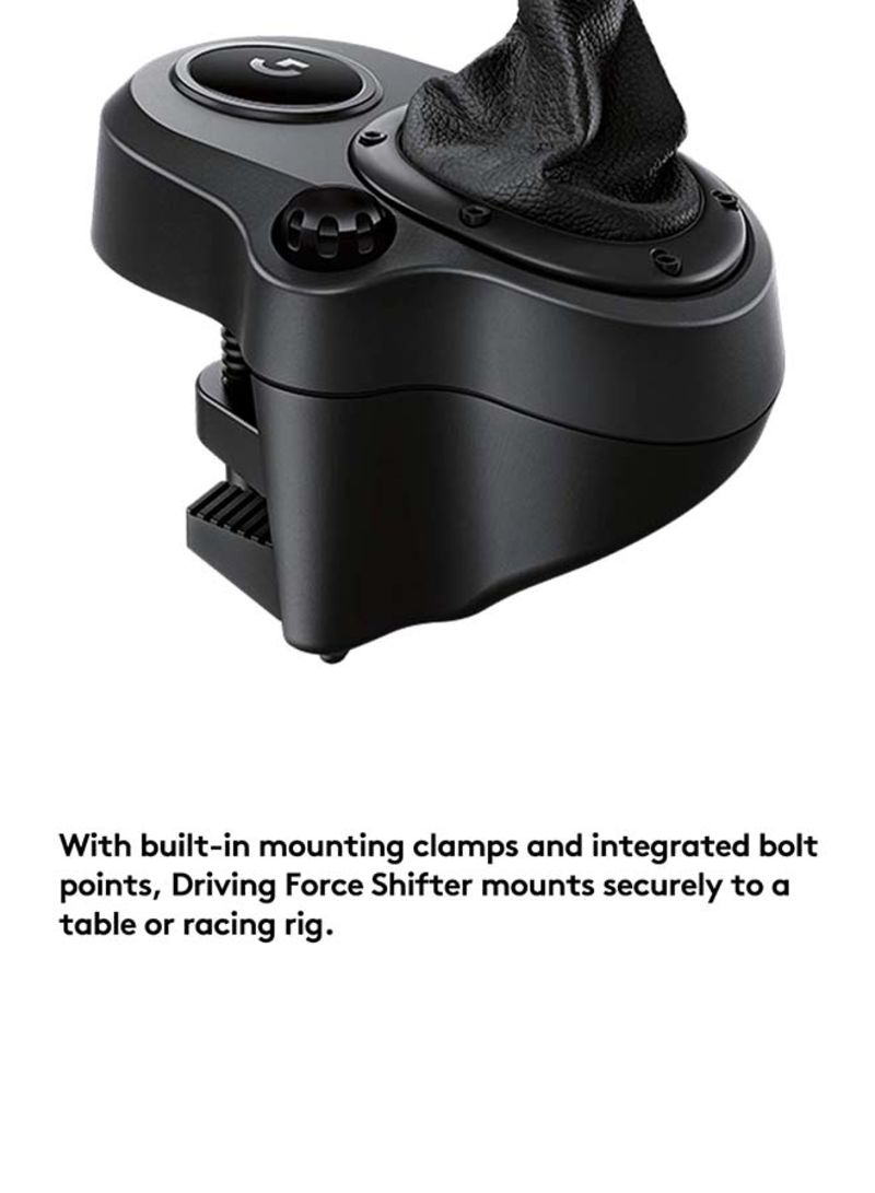 Shop Logitech Driving Force Shifter For PlayStation 4, Xbox One, Windows  8 1, Windows 8, Windows 7 online in Dubai, Abu Dhabi and all UAE