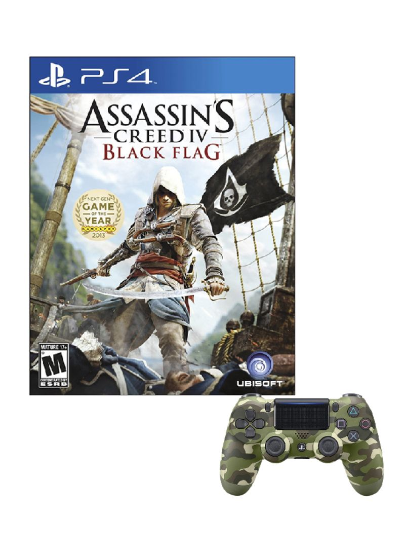Assassin S Creed Iv Black Flag Video Game With Controller Price In