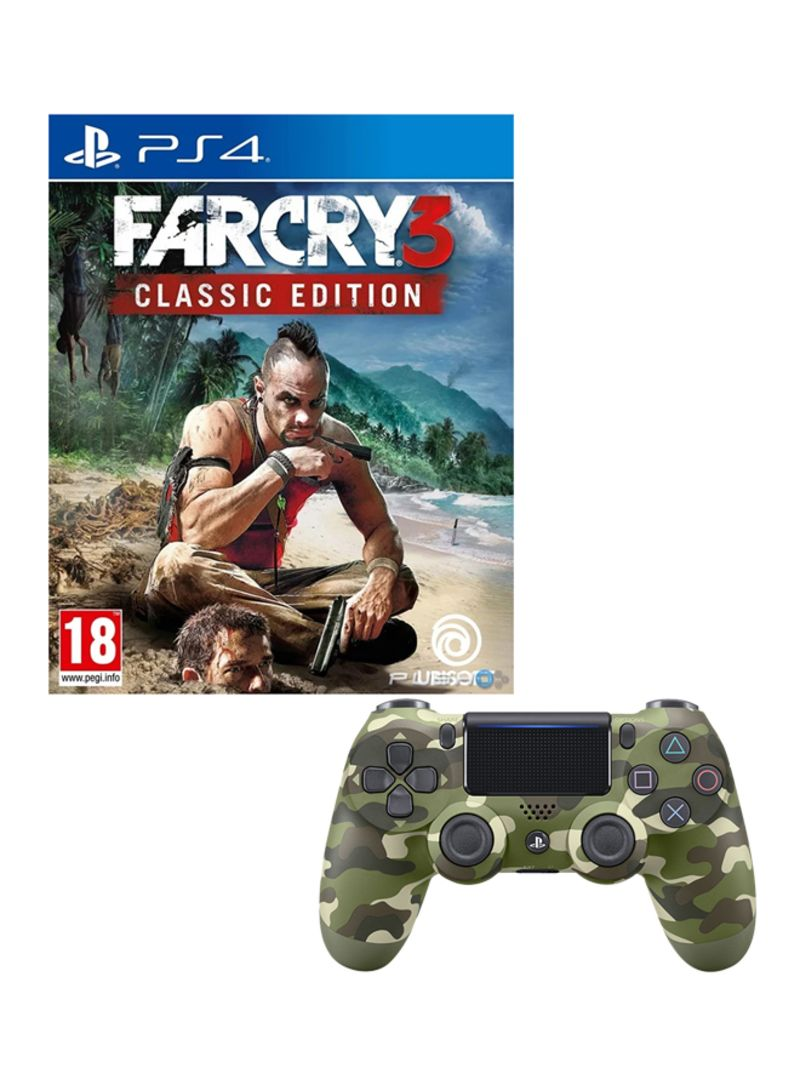 Shop Bethesda Far Cry 3 Classic Edition Action And Shooter Playstation 4 Ps4 With Dualshock 4 Wireless Controller Action Shooter Playstation 4 Ps4 Online In Dubai Abu Dhabi And All Uae