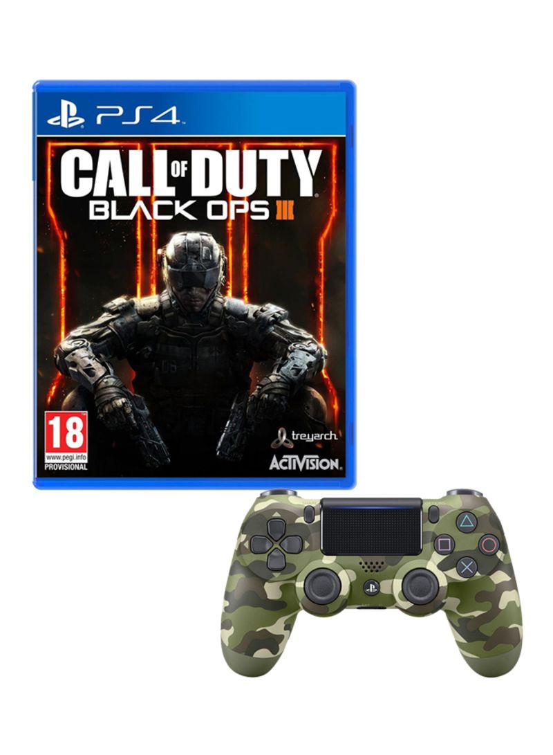 Call Of Duty Black Ops 3 Playstation 4 Ps4 With Dualshock 4