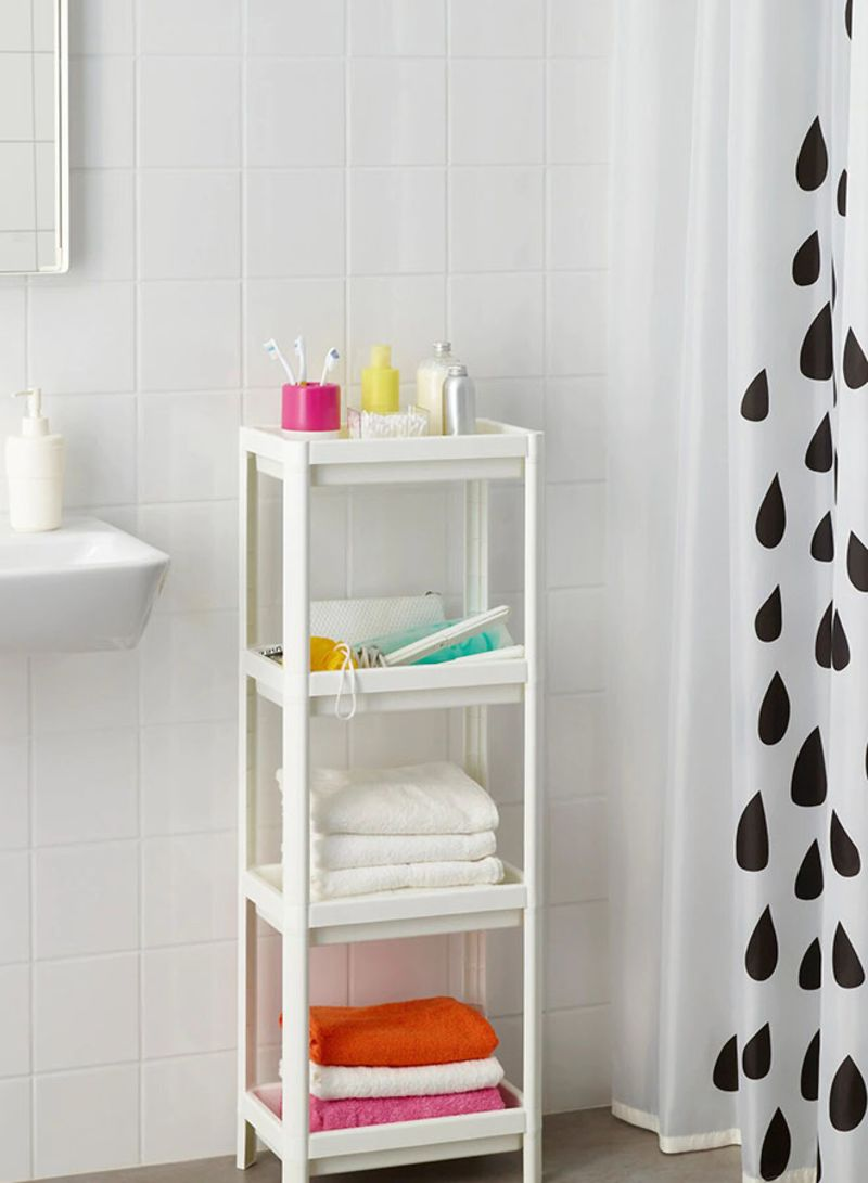 Shop Ikea Vesken Shelving Unit Shelf White online in Riyadh