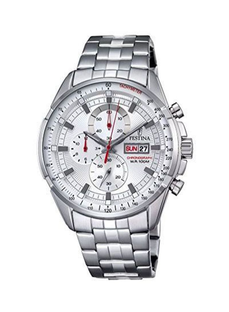 Men's Water Resistant Chronograph Watch F6844/1