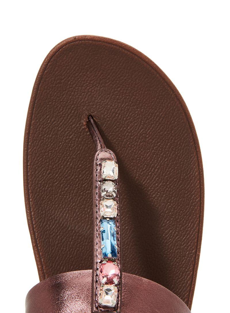 fitflop Fino Bejewelled Slide Sandal