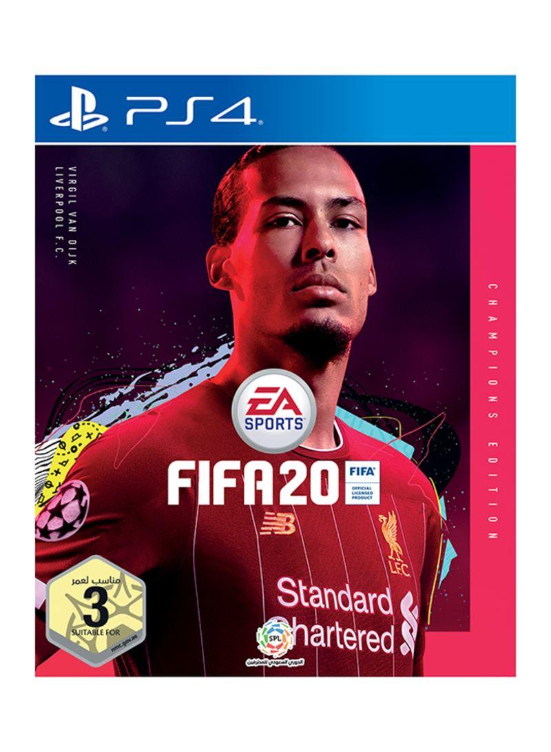 سعر لعبة Fifa 20 Champions Spl Edition الإمارات العربية المتحدة Sports بلاي ستيشن 4 Ps4 فى السعودية نون السعودية كان بكام