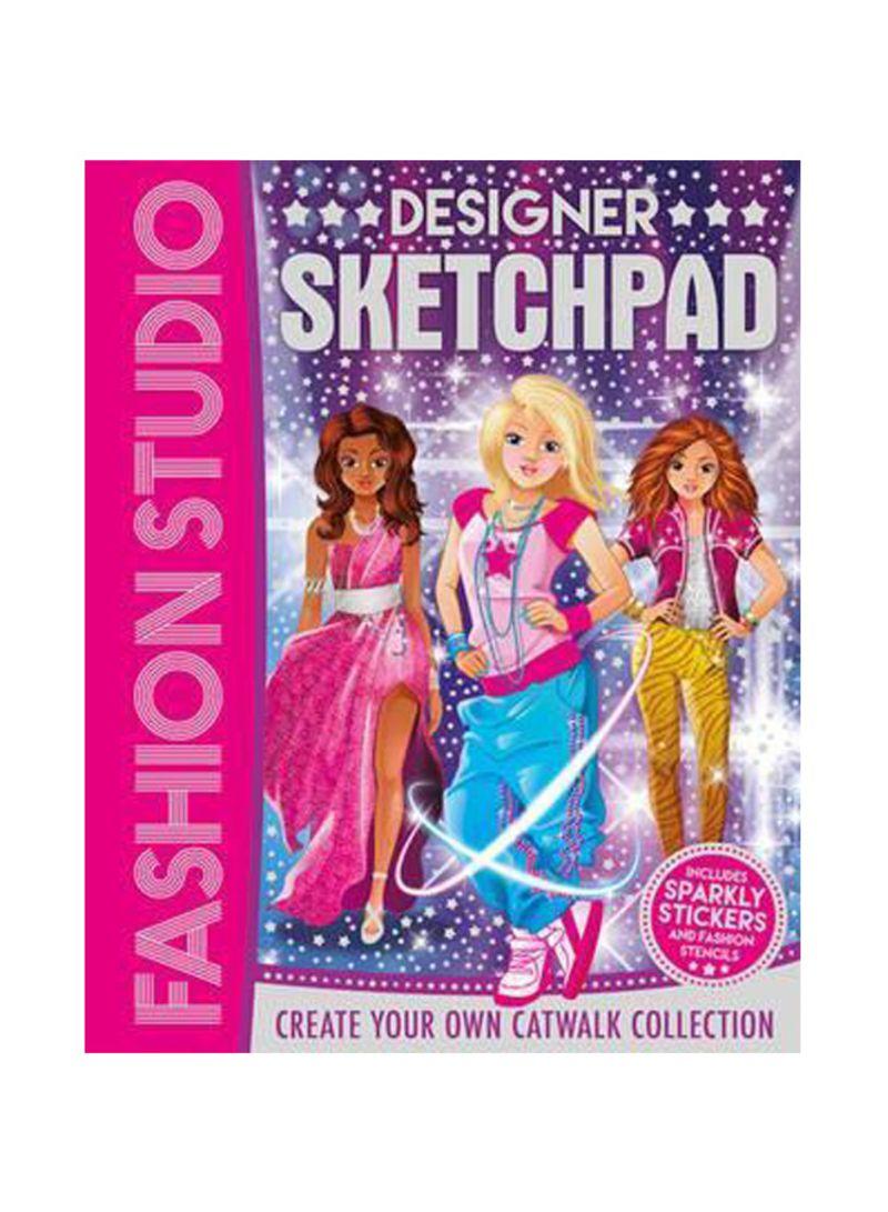 Shop Fashion Studio Designer Sketchpad Spiral Bound Online In Dubai Abu Dhabi And All Uae