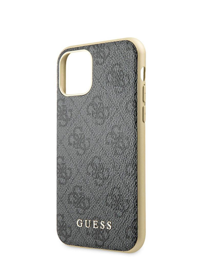 Buy Now GUESS 4G PCTPU Hard Case For Apple iPhone 11 Pro Grey with Fast Delivery and Easy Returns in Dubai, Abu Dhabi and all UAE
