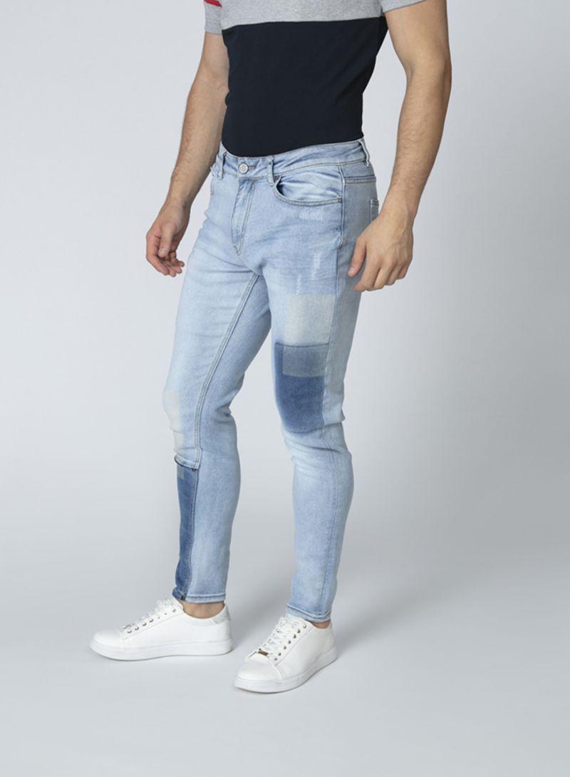 تسوق أيكونك وبنطلون جينز من الدينم Blue أونلاين في السعودية