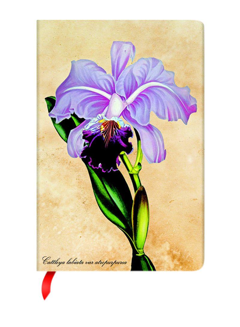 تسوق Paperblanks وbrazilian Orchid Lined Mini Size Notebook Beigepurple أونلاين في السعودية