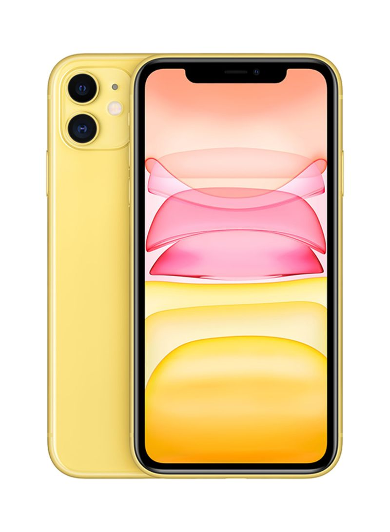 iPhone 11 With FaceTime Yellow 64GB 4G LTE - International Specs
