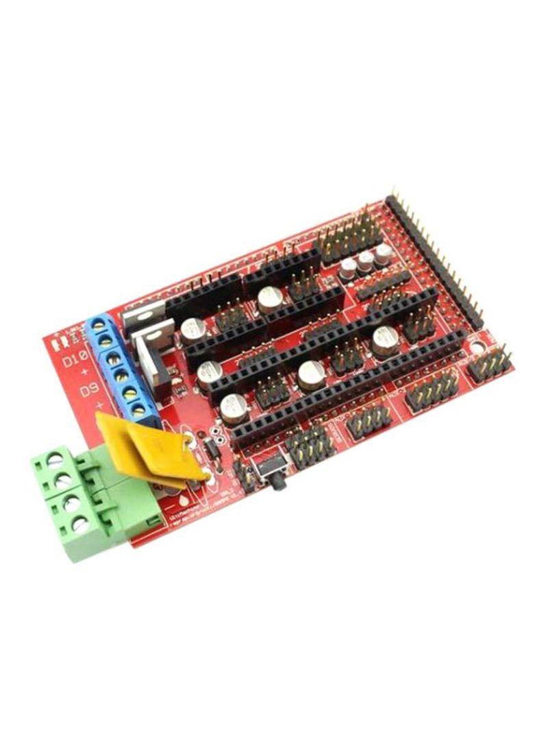 أردوينو ولوحة تحكم للطابعة ثلاثية الأبعاد أحمر / أسود / أصفر