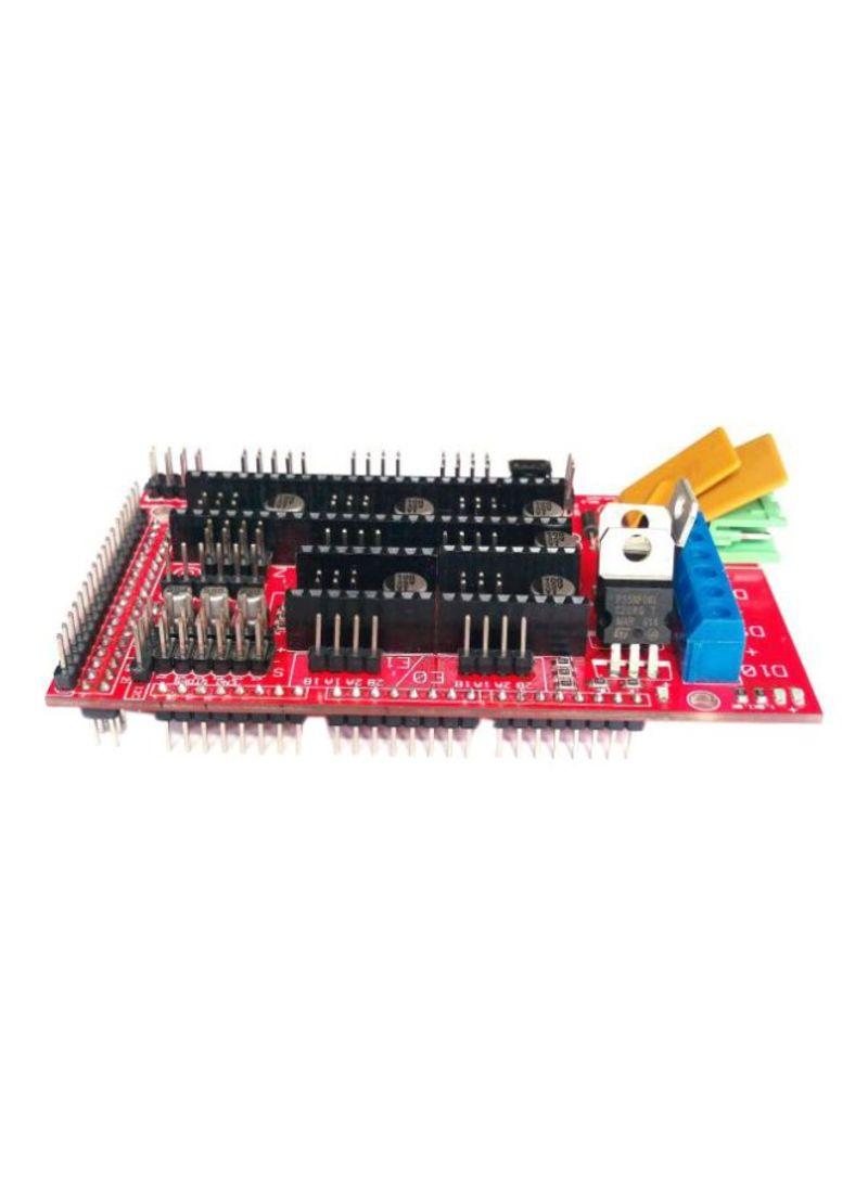 لوحة تحكم للطابعة ثلاثية الأبعاد أحمر/ أسود/ أزرق