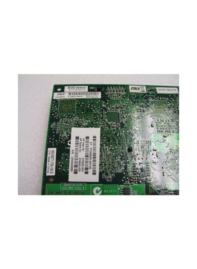 PNY//Nvidia Quadro4 400 NVS 64MB Quad head PCI Card VCQ4400NVS HP 272250-003