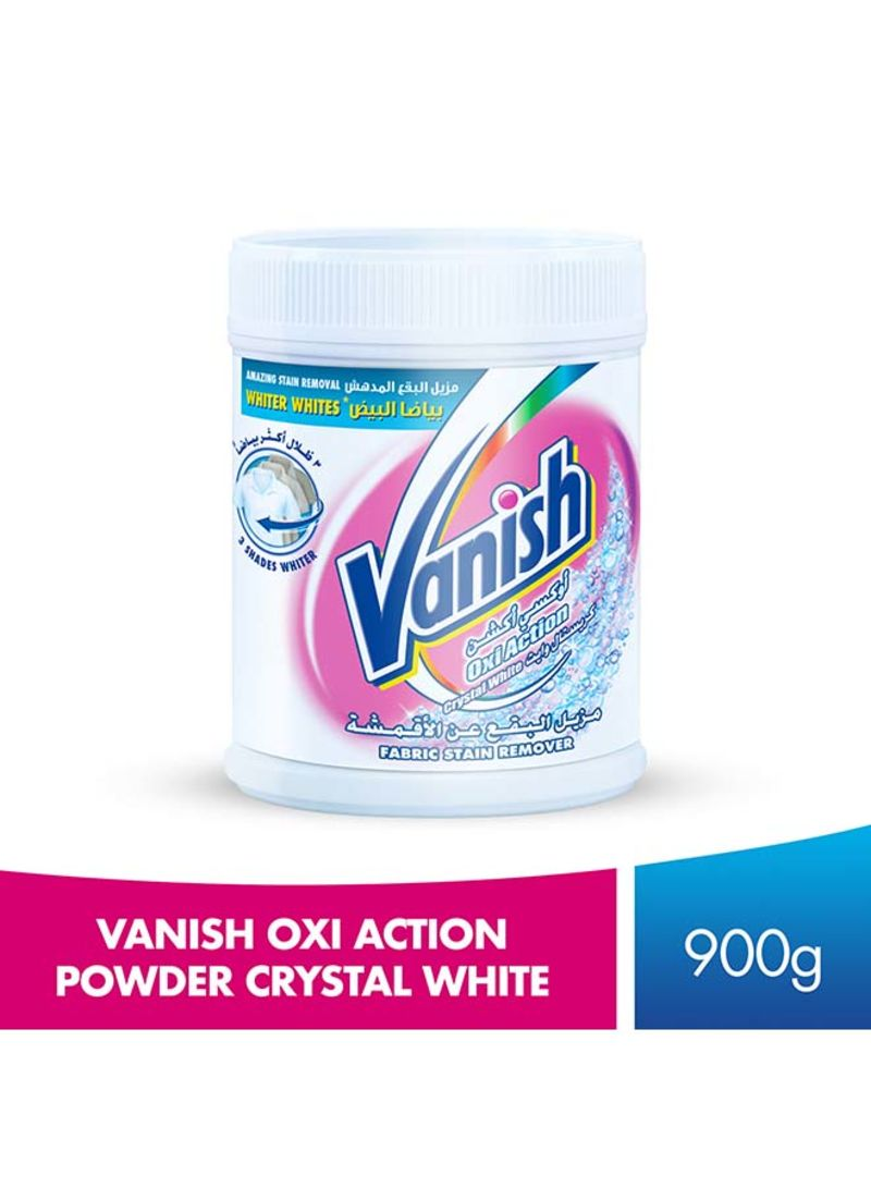 Stain Remover Oxi Action Crystal for Whites 900g