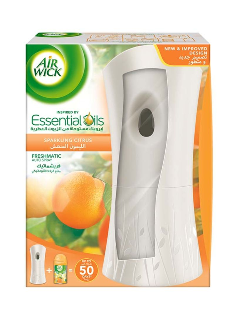 Air Freshener Freshmatic Auto Spray Kit - Sparkling Citrus 2
