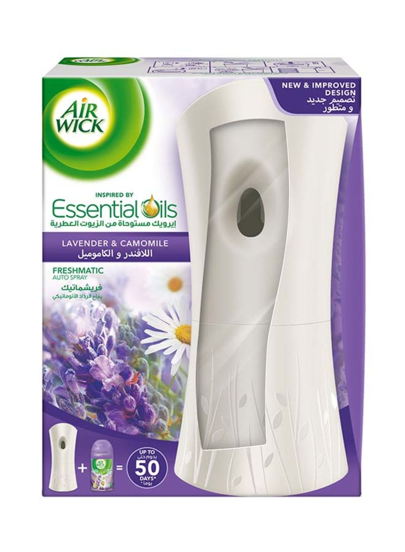 Air Freshener Freshmatic Auto Spray Kit - Lavender & Camomil