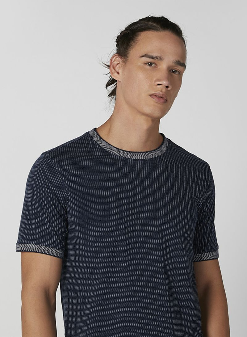 Best Blue Cotton T Shirt Iconic from SIVVI