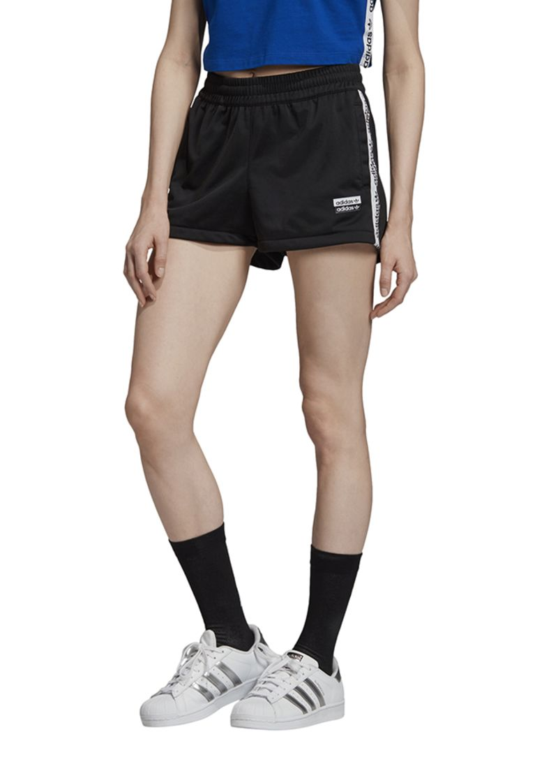 Shop adidas Originals Tape Shorts Black online in Dubai, Abu