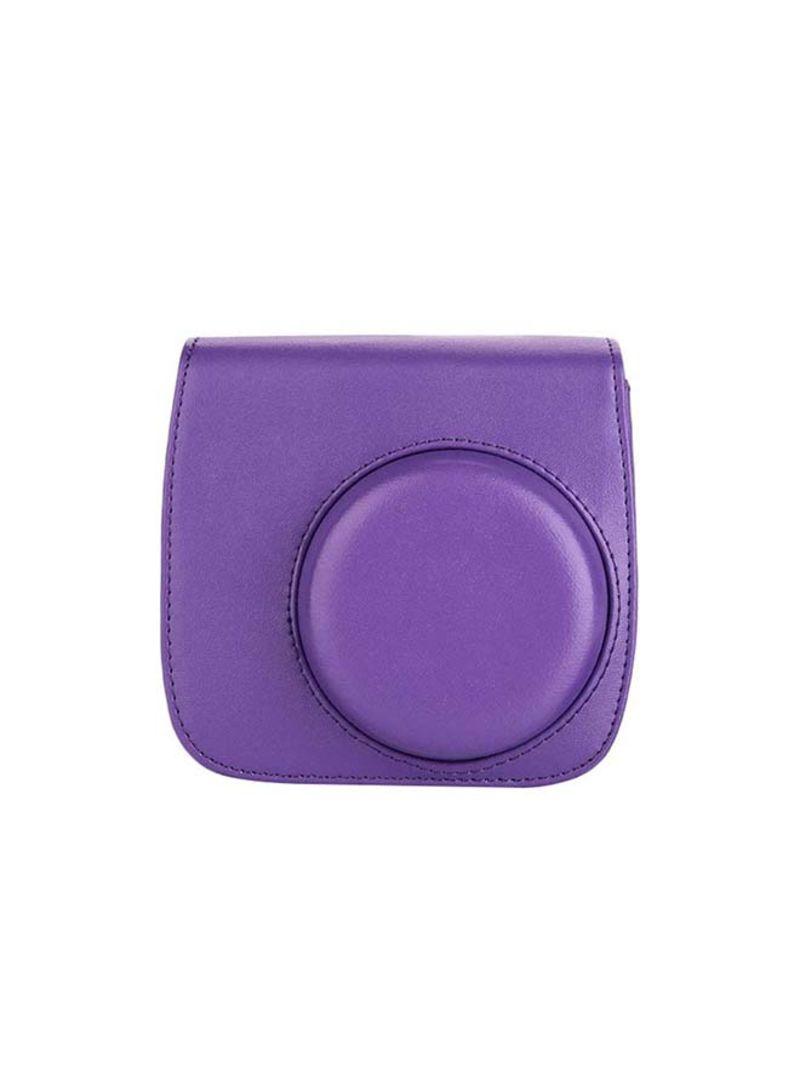Pu Leather Protectective Case For Fujifilm Instax Mini 8